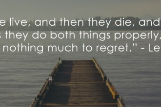 Live Without Regrets